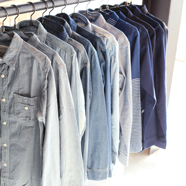 Chambray & Indigo SHIRTS