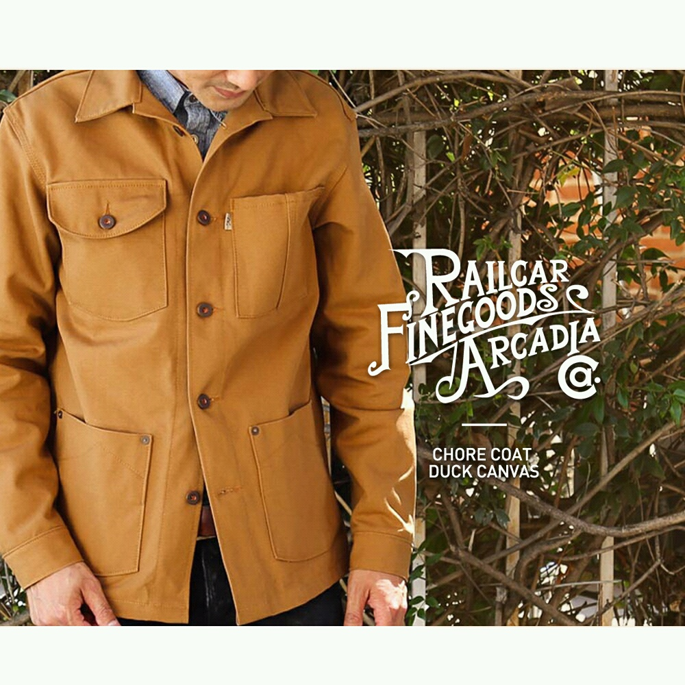RAILCAR FINE GOODS Chore Jacket