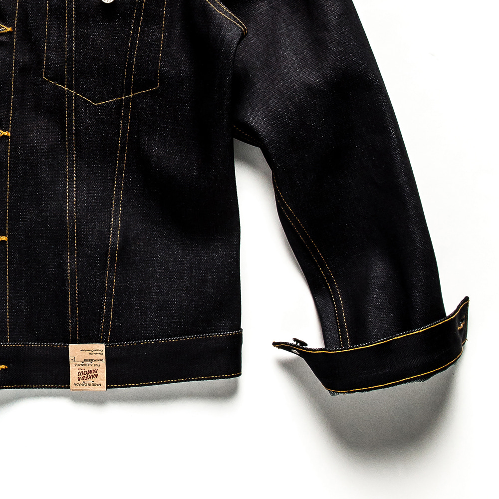 Denim Jacket Elephant 6 Broken Twill Selvedge